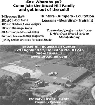 Broad Hill Equestrian Center